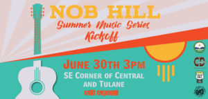 Nob Hill Summer Music Series Kickoff at Tractor Brewing Company